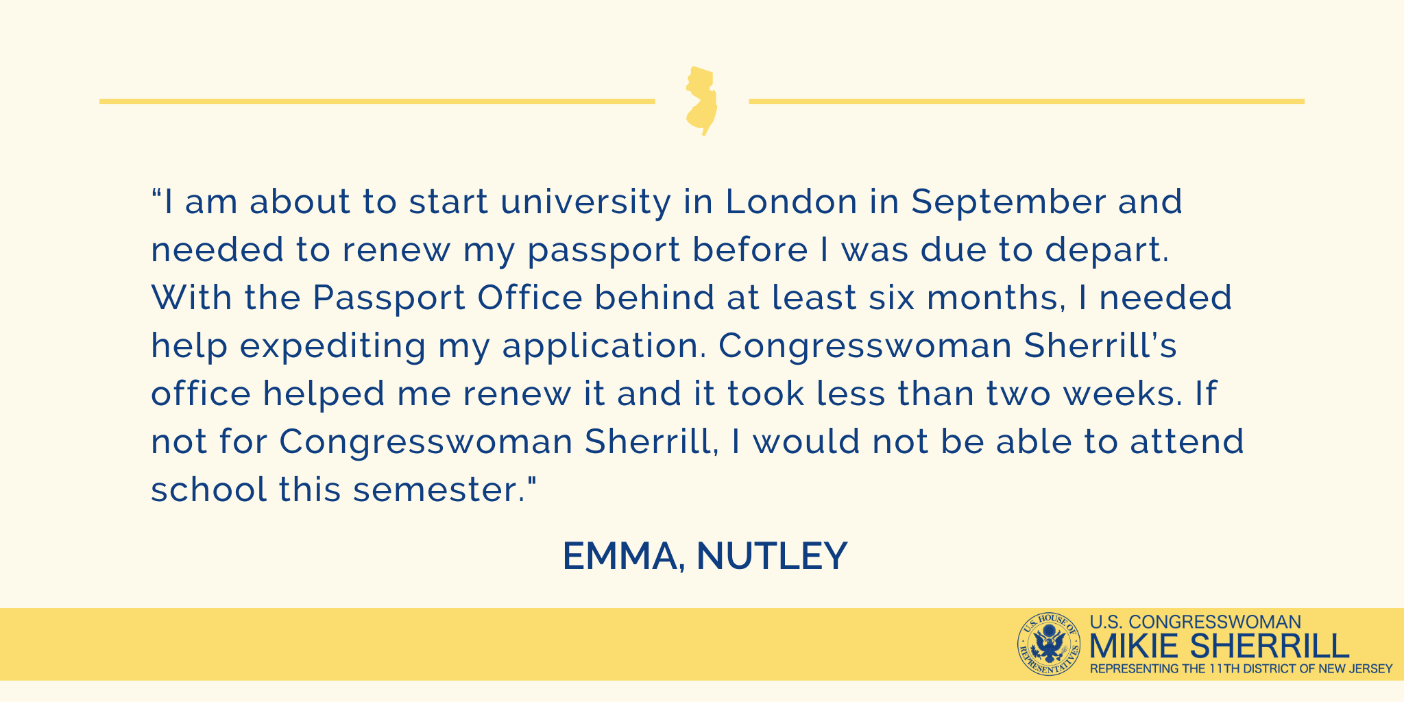 Emma's Story: Help with a Passport